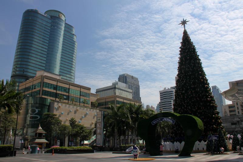 Bangkok fête Noël!