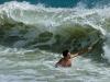 Surfeur sans planche