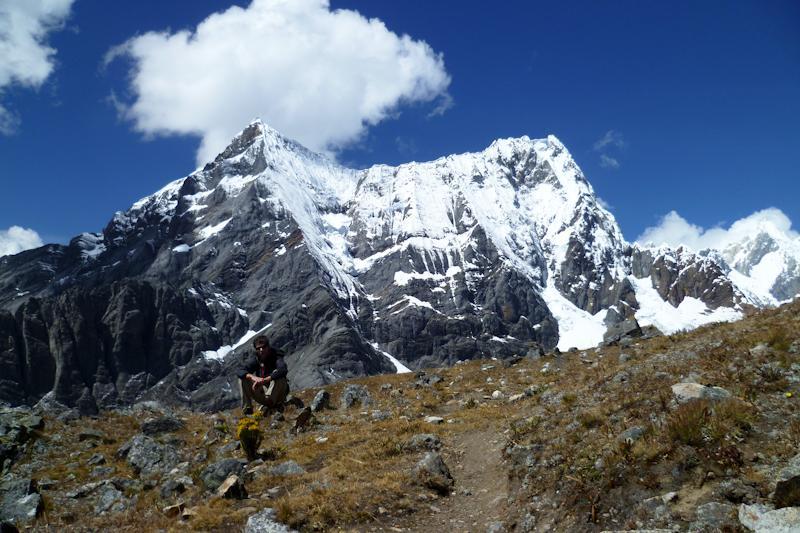 La haut sur la montagne