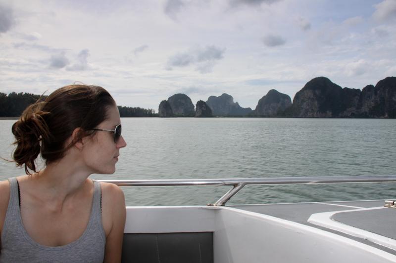 Sur mon yacht