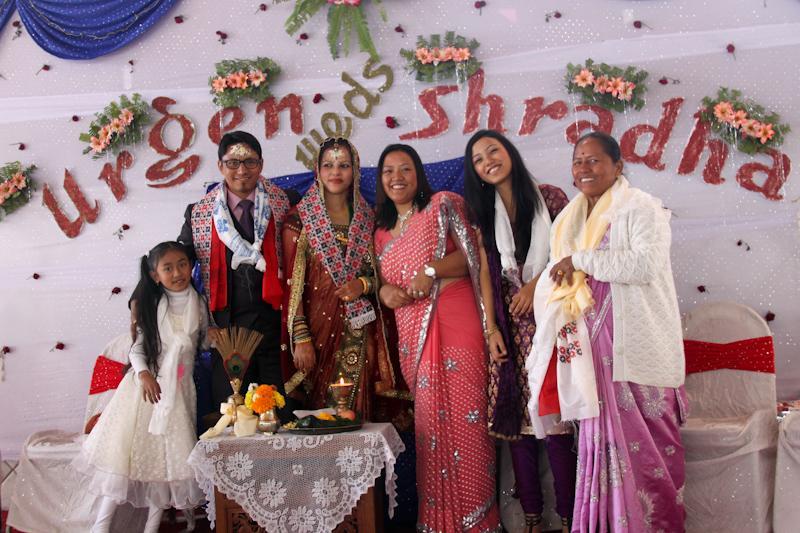 Les maries et Bhumika