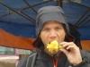 Ananas sous la pluie