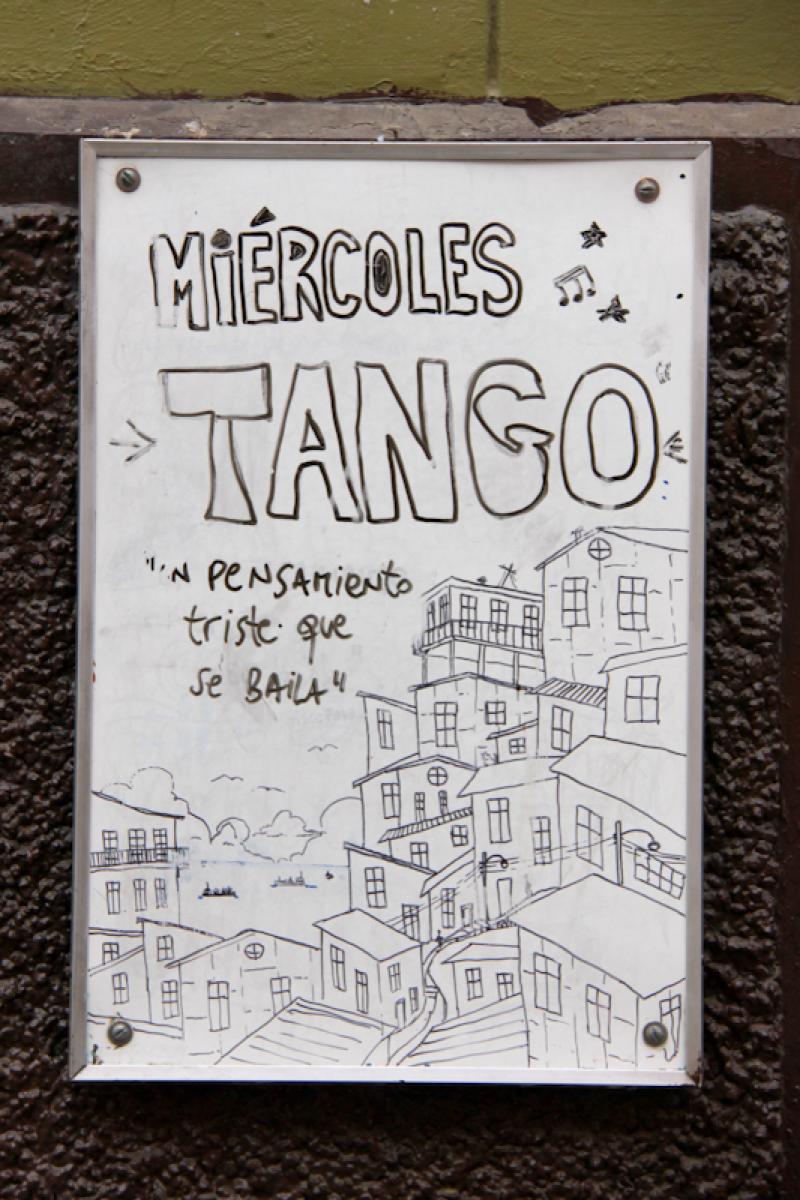 Le mercredi c'est tango