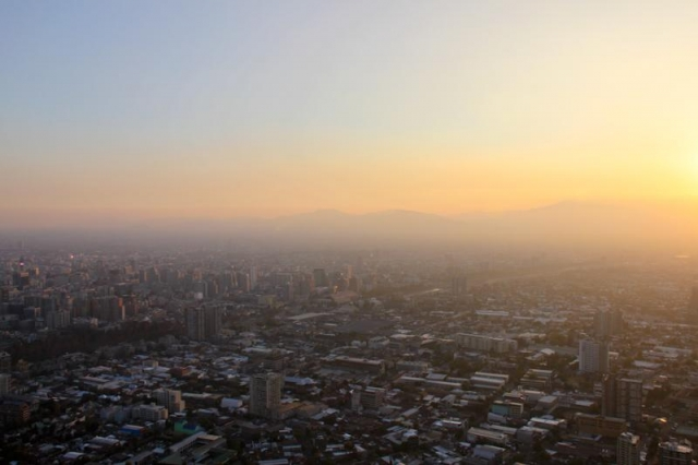 Santiago et les Andes