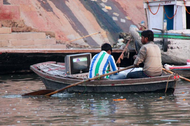 Television amphibie