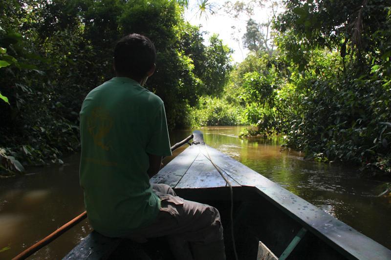 Sur la rivière Loboyoc