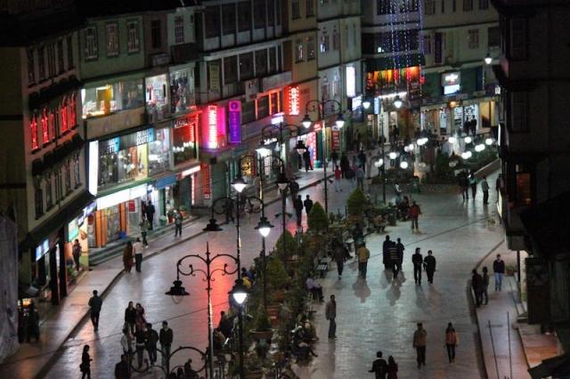 Gangtok de nuit