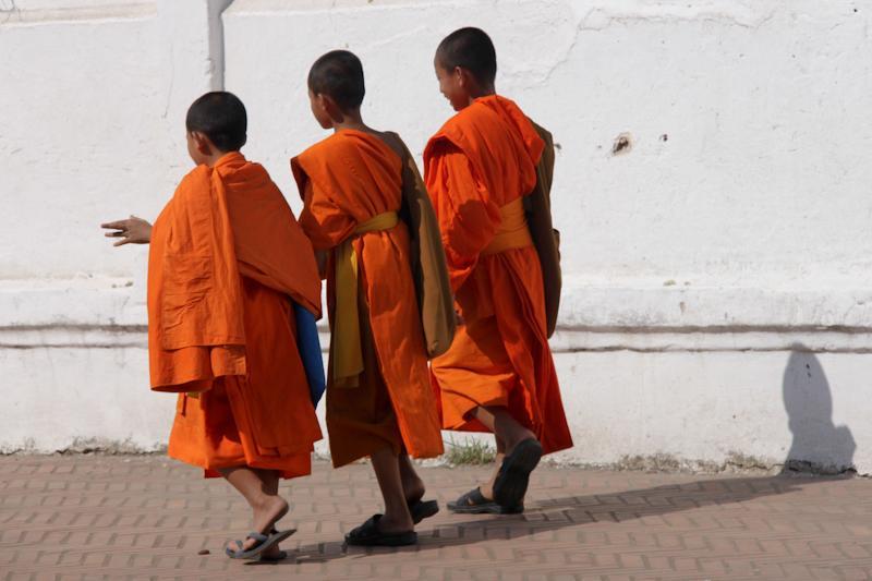 Sur le chemin du monastère